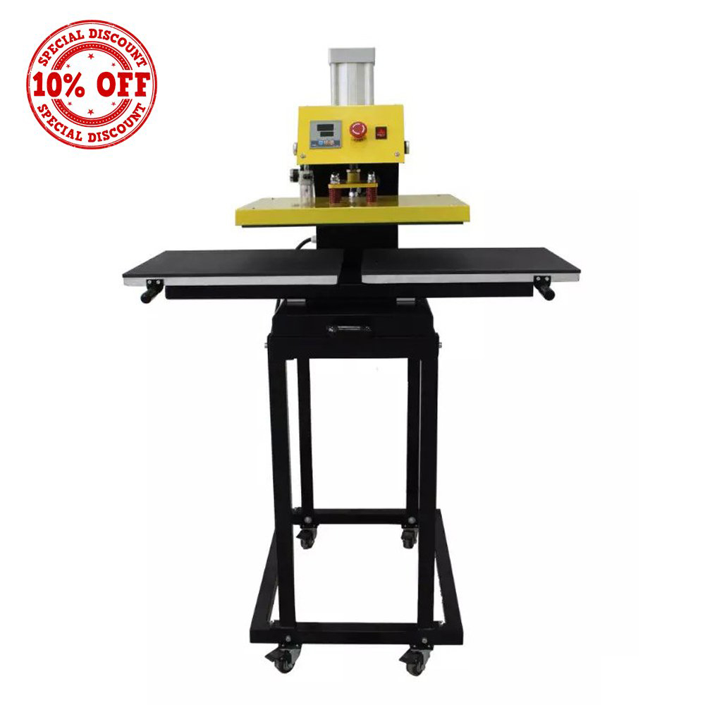 Double Working StationHeat Press Machine with Stands