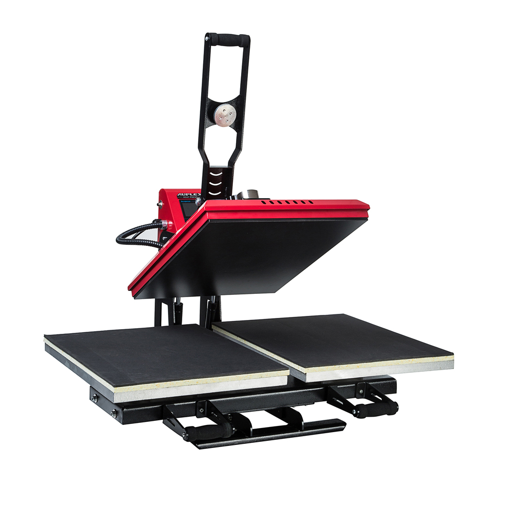 Double Working Station Auto Open Heat Press